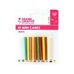 Mini canes Assortiment Fruits x 10 pcs