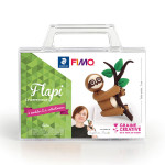 Kit figurine FIMO Paresseux Flapi