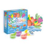 Pâte à modeler enfant Softine set Fruits & légumes