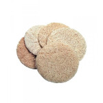 Disques exfoliants en LOOFAH (luffa) pour le visage 5 pces
