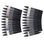 Trousse Promarker par 24 Set nuances de gris