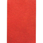 Feutrine adhésive - rouge - A4