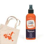 Teinture textile Izink Orange henné - 80 ml