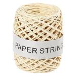 Ficelle de papier Ep. 1 mm 50 m Naturel