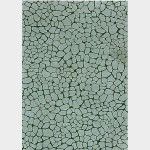Feuille Décopatch - Effet mosaïque grise - 30 x 40 cm