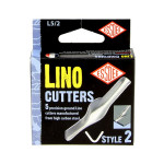 Gouge pour linogravure N2 - 5 pièces