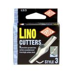 Gouge pour linogravure N3 - 5 pièces