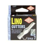 Gouge pour linogravure N7 - 5 pièces