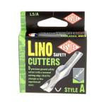 Gouge de sécurité pour linogravure A - 5 pièces