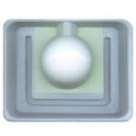Moule à bougie Boule 80 mm