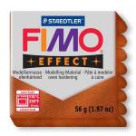 Pâte polymère Fimo Effect 56g - Cuivre