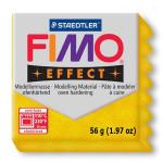 Pâte polymère Fimo Effect 56g - 112 - Or pailleté