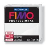 Pâte polymère Fimo Pro 85 g - 0 - Blanc