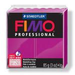 Pâte polymère Fimo Pro 85 g - 210 - Magenta