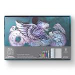 Aquarelle Cotman Coffret cadeau Cartes postales
