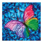 Broderie Diamant kit intermédiaire Papillon Rose