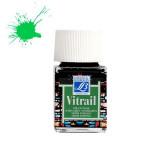 Peinture Vitrail Lefranc Bourgeois 50 ml - 534 - Vert intense