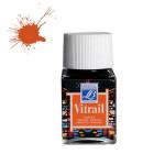 Peinture Vitrail Lefranc Bourgeois 50 ml - 201 - Orange