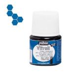 Peinture pour verre Vitrail 45 ml - 37 - Bleu cobalt