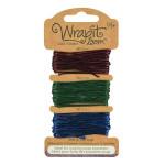 Cordons pour Bracelets Wrapit™ Loom - bordeaux / vert foncé / bleu marine