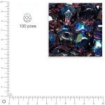 Facettes dépolies - Améthyste - 3 mm x 100 pces