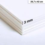 Carton mousse 3 mm - 29,7 x 42 cm
