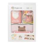 Kit Bébé fille - 120 cartes / découpes pour Project Life