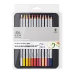Crayon de couleur Studio Boîte métal de 24