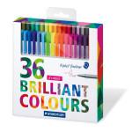 Feutres de coloriage Triplus Fineliner 36 pièces