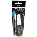 Feutre peinture 4Artist Marker - Blanc 2 et 8 mm