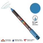 Marqueur PC-1MR calibrée extra-fine - Bleu métal