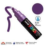 Marqueur PC-8K pointe biseautée large - Violet