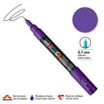 Marqueur pointe conique PC-1MC extra-fine 1mm - Violet