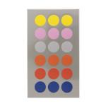 Gommettes rondes multicolores 15 mm