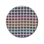 Strass facettés multicolore 8 mm