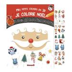 Album Mes petits stickers en 3D Je colorie noël