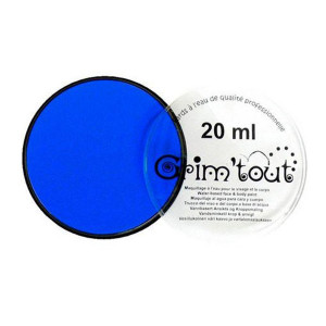 Fard de maquillage 20 ml - Bleu vif