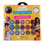 Maquillage Super party kit - 17 couleurs et 14 accessoires