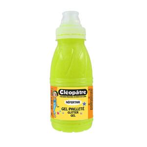 Gel pailleté fluo Néon 250 ml - Jaune