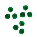 Pompons 7mm set de 70 - Vert