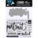 Combo Clear & Die - Portrait