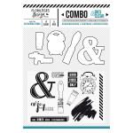Combo Clear & Dies En toutes lettres