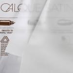 Papier calque satin 90/95g - 84,1 x 118,9 cm