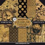 Steampunk Fantasy - Bloc 30 x 30 - 10 feuilles