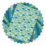 Bloc de papier imprimé Color Factory A4 Paons 48 feuilles