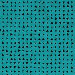 Papier Lokta Imprimé 50 x 75 cm Bleu motif Triangle