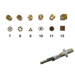 Pointe pour pyrograveur F21 + motifs 7 à 12