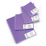 Carnet Dessin Notes couverture polypropylène Violet 50 F - 21 x 29,7 cm (A4)