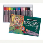 Boîte de 12 pastels à l'huile Expressionist