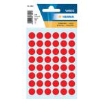 Etiquettes rouges 12 mm par 240